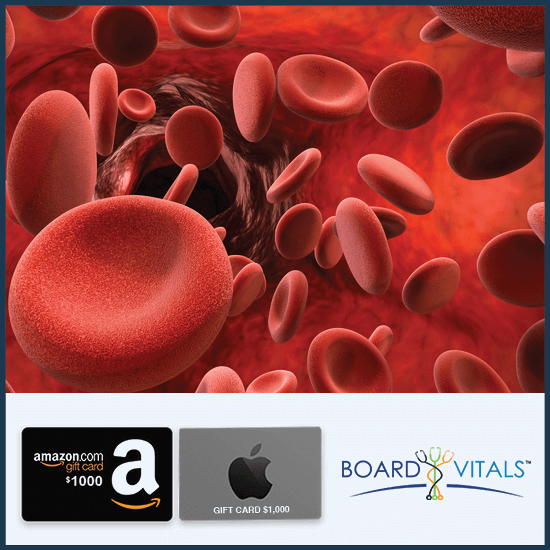 BoardVitals Online CME + MOC Hematology/Oncology Self-Assessment Activity with FREE $1,000 Amazon or Apple Gift Card